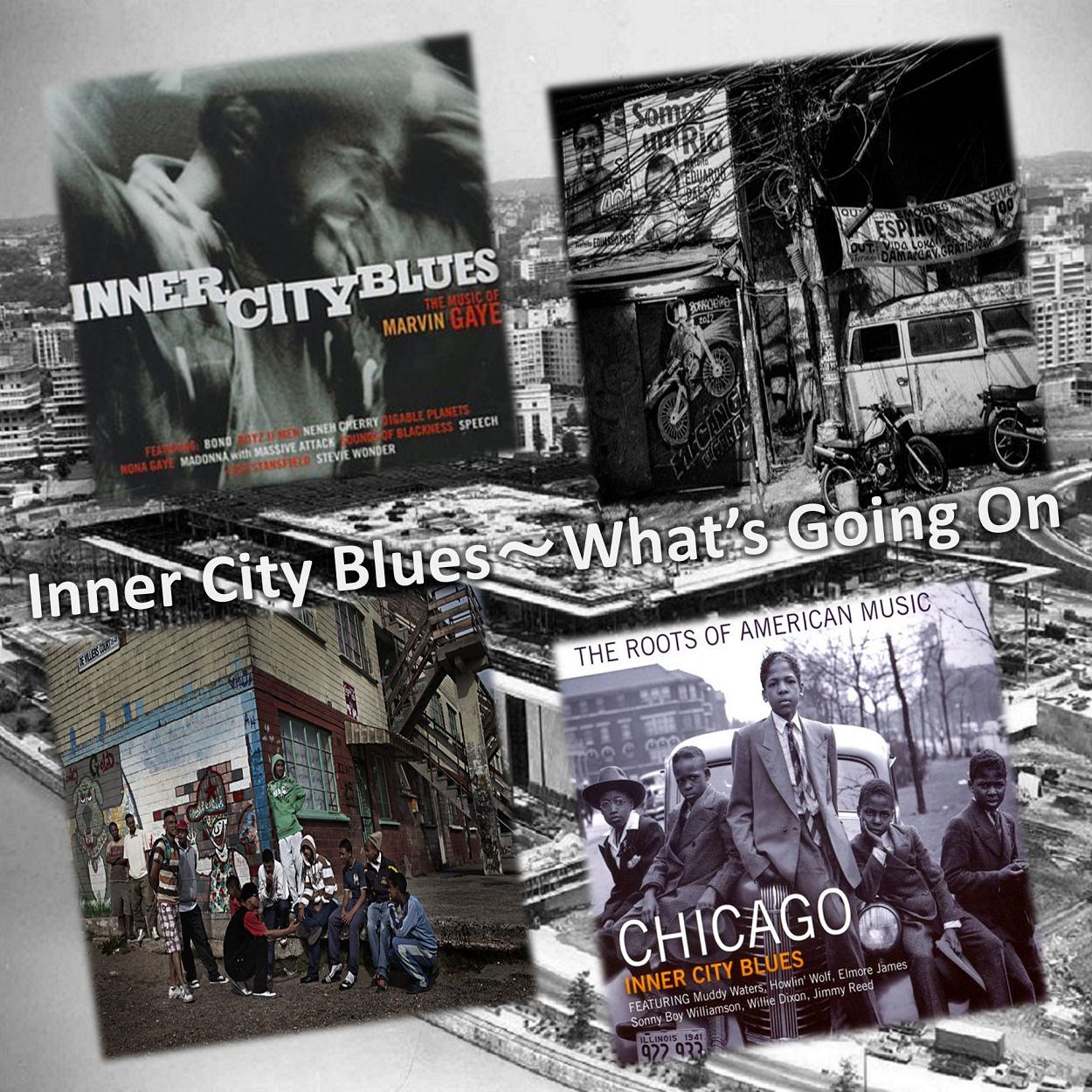 連載 marvin lover vol 1 inner city blues インナーシティ